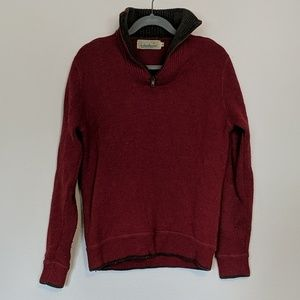 Men's Irish wool sweater